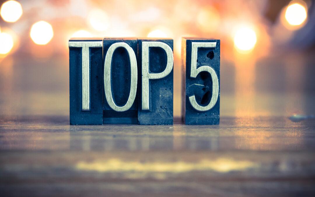 5 bedste ting ved året 2020