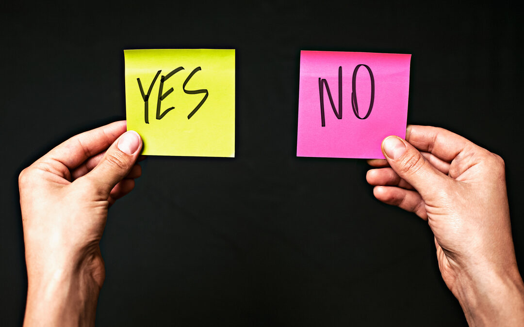 Siger du ja til andre, før du siger ja til dig selv?